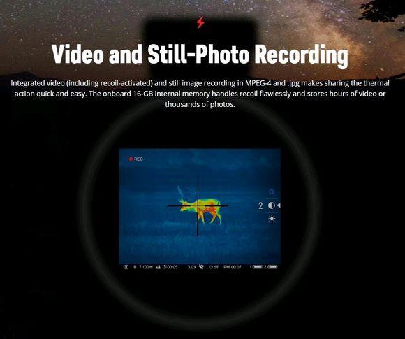 进口pulsar脉冲星热成像瞄准镜XM50 3