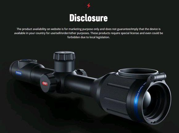 8407c413b07eca80896aed009f2397dda0448385 - 进口PULSAR脉冲星热成像瞄准镜XM50