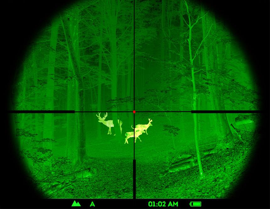 Pulsar脉冲星热瞄Core FXQ50 #76459 白光瞄准镜前置热成像