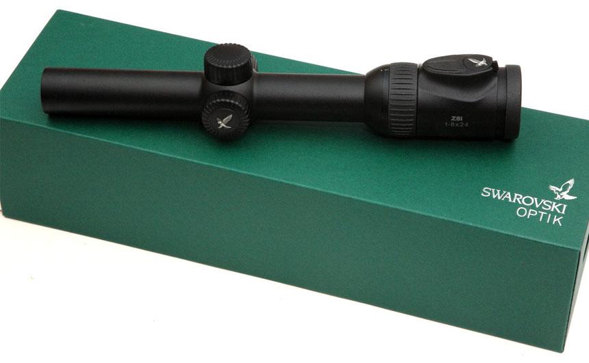 原装进口Swarovski施华洛世奇瞄准镜 Z8i 1-8x24 白光瞄